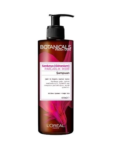 L'Oréal Paris Botanicals Fresh Care Sardunya Parlaklık İksiri Şampuan 400 Ml Renksiz